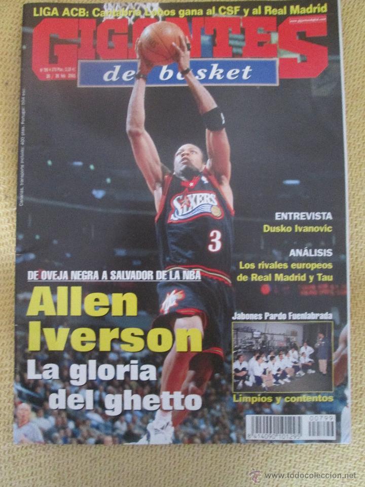 GIGANTES DEL BASKET. NO 799 - FEBRERO - 2001 (Coleccionismo Deportivo - Revistas y Periódicos - otros Deportes)