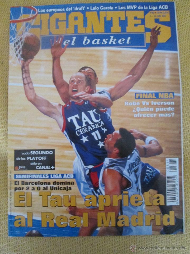 GIGANTES DEL BASKET. NO.814 - JUNIO - 2001 (Coleccionismo Deportivo - Revistas y Periódicos - otros Deportes)