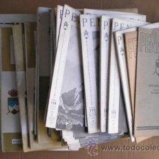 Coleccionismo deportivo: PEÑALARA. REVISTA ILUSTRADA DE ALPINISMO 37 NÚMEROS 1950-1983. Lote 54831736