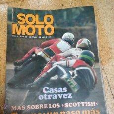 Coleccionismo deportivo: SOLO MOTO MAYO 1977. Lote 50785369