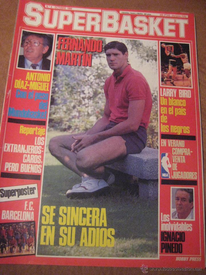 REVISTA SUPERBASKET Nº8. (Coleccionismo Deportivo - Revistas y Periódicos - otros Deportes)