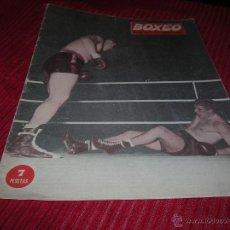Coleccionismo deportivo: REVISTA BOXEO Nº 41 JUNIO AÑO 1962. Lote 55018233