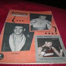 Coleccionismo deportivo: REVISTA BOXEO Nº 39 ABRIL 1962. Lote 55027599