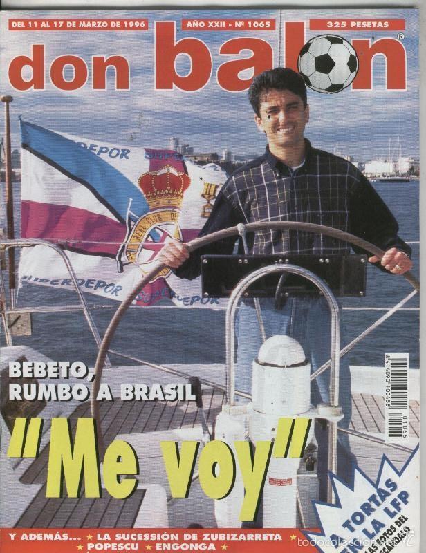 DON BALON NUMERO 1065 (Coleccionismo Deportivo - Revistas y Periódicos - otros Deportes)
