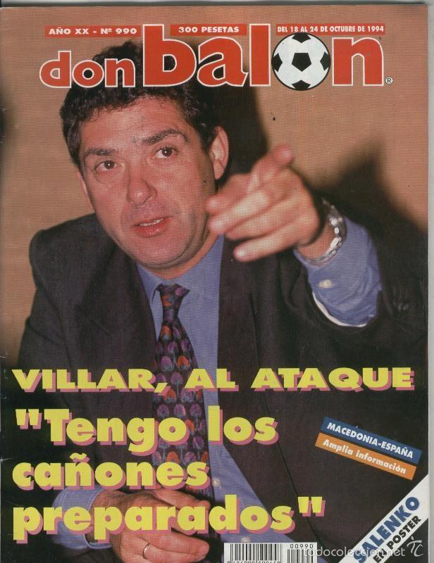 DON BALON NUMERO 0990 (Coleccionismo Deportivo - Revistas y Periódicos - otros Deportes)