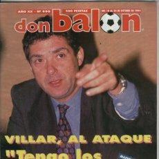 Coleccionismo deportivo: DON BALON NUMERO 0990. Lote 55440899