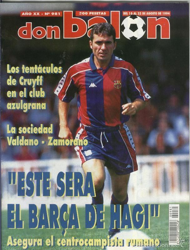 DON BALON NUMERO 0981 (Coleccionismo Deportivo - Revistas y Periódicos - otros Deportes)