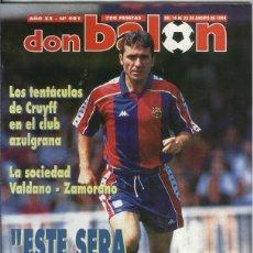 Coleccionismo deportivo: DON BALON NUMERO 0981. Lote 55441829