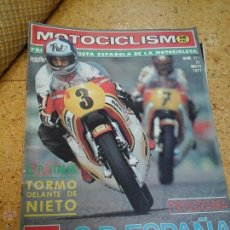 Coleccionismo deportivo: MOTOCICLISMO MAYO 1977. Lote 50785277