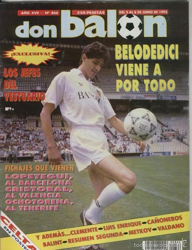 DON BALON NUMERO 0866 (Coleccionismo Deportivo - Revistas y Periódicos - otros Deportes)