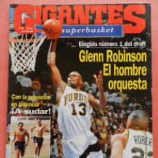 Coleccionismo deportivo: REVISTA GIGANTES DEL BASKET Nº 453 1994 OBRADOVIC-HOUSTON ROCKETS-ROBINSON DRAFT 94 NBA SUPERBASKET. Lote 56137871