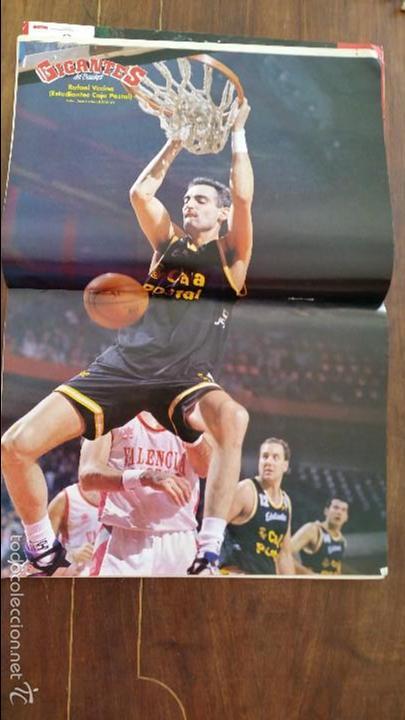 Coleccionismo deportivo: GIGANTES DEL BASKET N°379.AÑO 1993.DRAZEN PETROVIC 44 PUNTOS RECORD - Foto 4 - 56182936