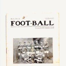 Coleccionismo deportivo: REVISTA FOOT-BALL NUM. 104 AÑO 1917. Lote 56204531