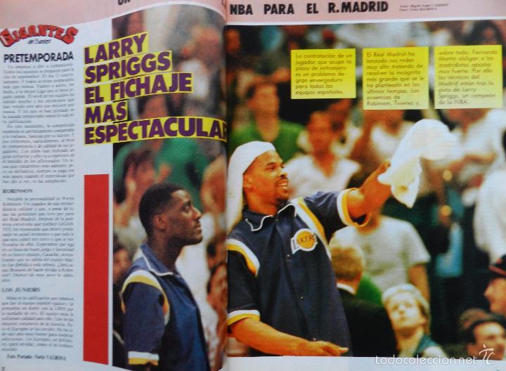 Coleccionismo deportivo: REVISTA GIGANTES DEL BASKET Nº 43 1986 POSTER USA MUNDOBASKET 86-LARRY SPRIGGS-PENYA JULBE-AITO - Foto 3 - 56348230