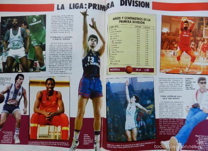 Coleccionismo deportivo: REVISTA GIGANTES DEL BASKET Nº 43 1986 POSTER USA MUNDOBASKET 86-LARRY SPRIGGS-PENYA JULBE-AITO - Foto 8 - 56348230