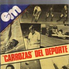Coleccionismo deportivo: REVISTA JUVENIL EN MARCHA. Nº 57. FEBRERO 1980. CARROZAS DEL DEPORTE. Lote 56435264