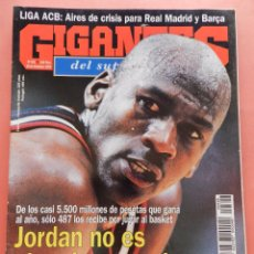 Collectionnisme sportif: REVISTA GIGANTES DEL BASKET Nº 528 1995 MICHAEL JORDAN NBA BARKLEY ROBINSON-ACB REAL MADRID BARÇA. Lote 56480828