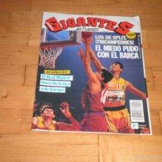 Coleccionismo deportivo: BALONCESTO. GIGANTES DEL BASKET . Nº286 ABRIL 1991. Lote 66193350