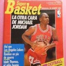 Coleccionismo deportivo: REVISTA SUPER BASKET Nº 1 1989 ENTREVISTA MICHAEL JORDAN CHICAGO BULLS POSTER NBA SUPERBASKET. Lote 56595675