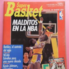 Coleccionismo deportivo: REVISTA SUPER BASKET Nº 2 1989 POSTER BARKLEY PHOENIX SUNS NBA-NCAA-PISTONS-SUPERBASKET . Lote 56595766