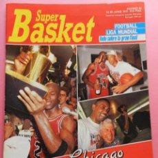 Coleccionismo deportivo: REVISTA SUPER BASKET Nº 86 1991-POSTER MICHAEL JORDAN-CHICAGO BULLS CAMPEON NBA 90/91-SUPERBASKET . Lote 56596121