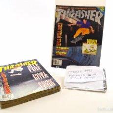 Coleccionismo deportivo: THRASHER MAGAZINE LOTE 1993 - 8 REVISTAS - BUEN ESTADO (ENG) SKATEBOARD SKATE . Lote 56708466