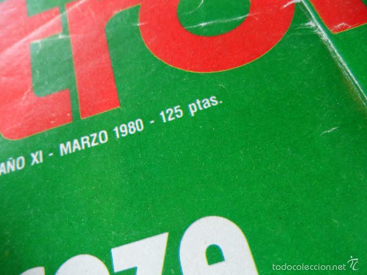 Coleccionismo deportivo: INTERESANTE LOTE DE 8 REVISTAS VINTAGE DE CAZA -TROFEO- - Foto 7 - 56714978