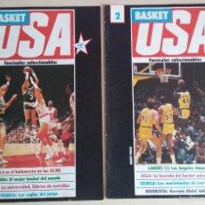 Coleccionismo deportivo: BASKET USA NÚMEROS 1 Y 2. FASCÍCULOS COLECCIONABLES. . Lote 56720335