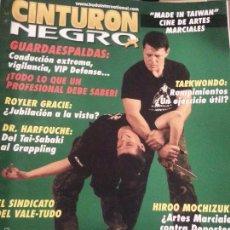 Coleccionismo deportivo: REVISTA CINTURON NEGRO - N 181 GUARDAESPALDAS, TAEKWONDON, ARTES MARCIALES .... Lote 56860179