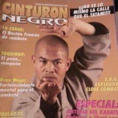Coleccionismo deportivo: REVISTA CINTURON NEGRO - N 203 KRAU MAGA, ARTES MARCIALES , COMBATE. Lote 56860317