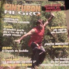 Coleccionismo deportivo: REVISTA CINTURON NEGRO - N 204 CINE MARCIAL, NAPAO AIKIDO , KYUSHO JISTU . Lote 56860373