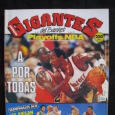Coleccionismo deportivo: GIGANTES DEL BASKET - Nº 287 - CON POSTER DE CHICHO SIBILIO ( TAUGRES ). . Lote 57251805