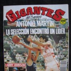 Coleccionismo deportivo: GIGANTES DEL BASKET - Nº 297 - CON POSTER LOS EXTRANJEROS DE LA ACB - DRAZEN PETROVIC.. Lote 57255138