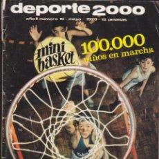 Coleccionismo deportivo: REVISTA DEPORTIVA DEPORTE 2000 Nº 16. Lote 57297369