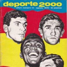 Collezionismo sportivo: REVISTA DEPORTIVA DEPORTE 2000 Nº 19. Lote 57297381
