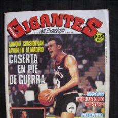 Coleccionismo deportivo: GIGANTES DEL BASKET - Nº 175 - CON POSTER DE JOSE ANTONIO MONTERO ( RAM JOVENTUT ).. Lote 57303584