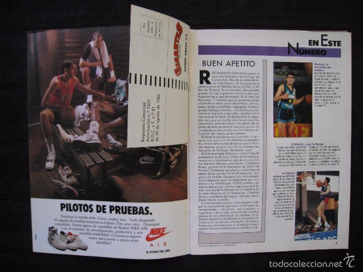 Coleccionismo deportivo: GIGANTES DEL BASKET - Nº 176 - MONTERO A CORAZON ABIERTO. - Foto 3 - 57312501