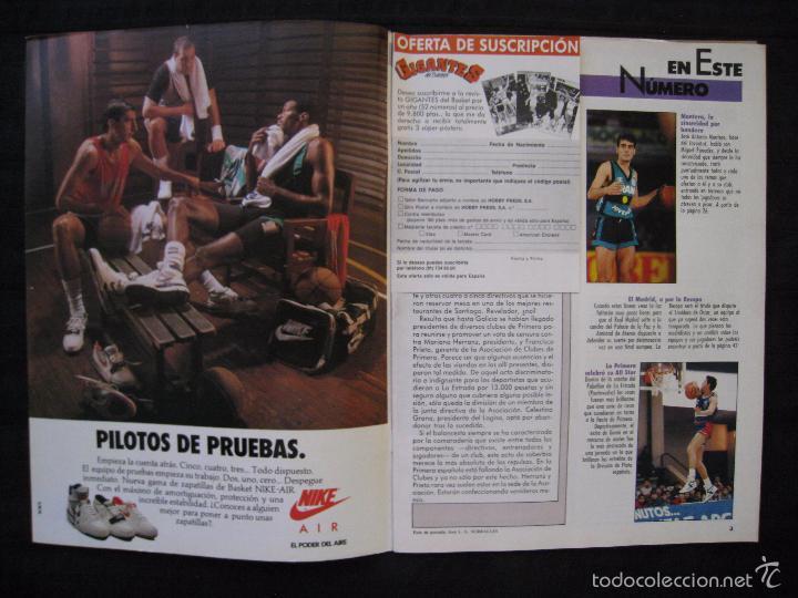 Coleccionismo deportivo: GIGANTES DEL BASKET - Nº 176 - MONTERO A CORAZON ABIERTO. - Foto 4 - 57312501