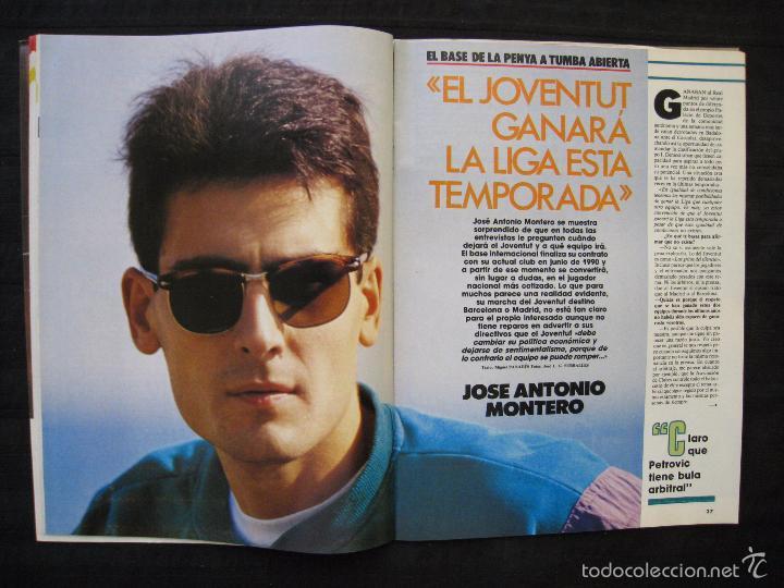 Coleccionismo deportivo: GIGANTES DEL BASKET - Nº 176 - MONTERO A CORAZON ABIERTO. - Foto 5 - 57312501