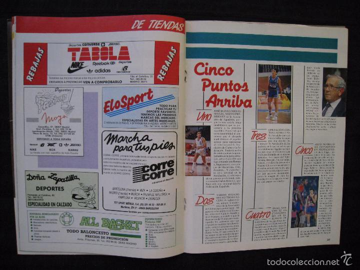 Coleccionismo deportivo: GIGANTES DEL BASKET - Nº 176 - MONTERO A CORAZON ABIERTO. - Foto 6 - 57312501