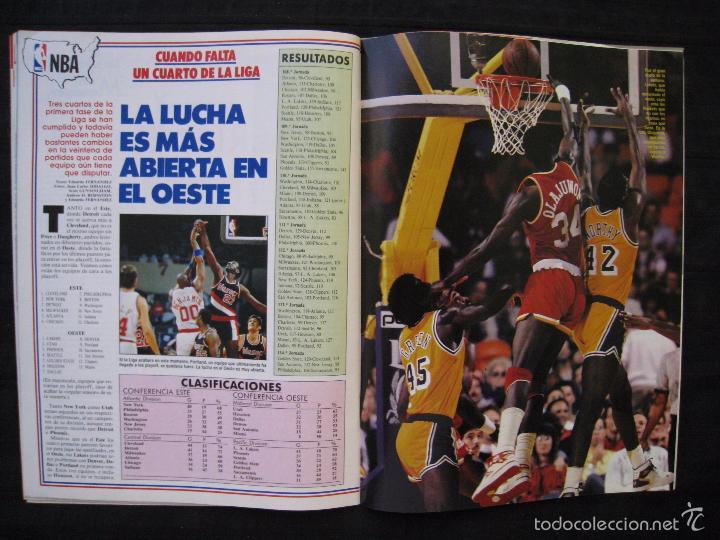 Coleccionismo deportivo: GIGANTES DEL BASKET - Nº 176 - MONTERO A CORAZON ABIERTO. - Foto 8 - 57312501