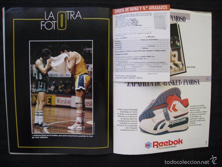 Coleccionismo deportivo: GIGANTES DEL BASKET - Nº 176 - MONTERO A CORAZON ABIERTO. - Foto 9 - 57312501