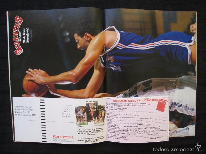 Coleccionismo deportivo: GIGANTES DEL BASKET - Nº 192 - CON POSTER DE VLADO DIVAC ( YUGOSLAVIA ). - Foto 6 - 57328961