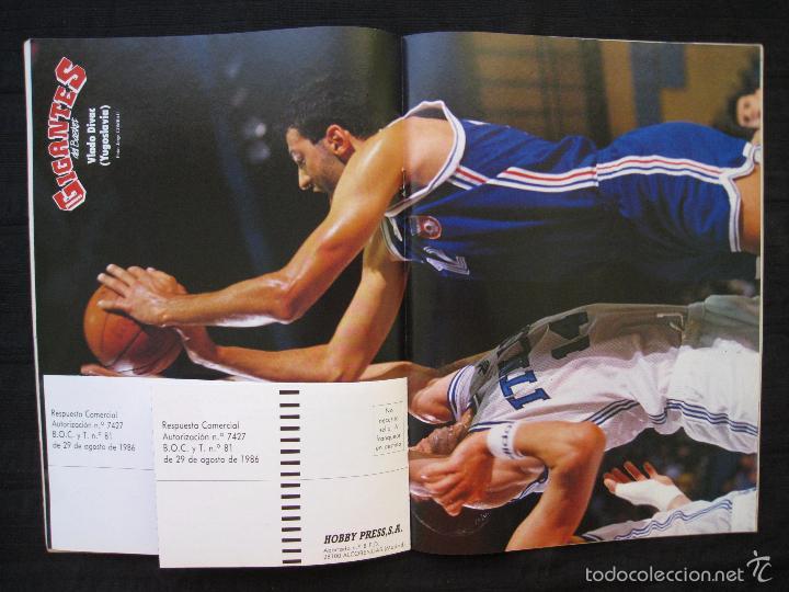 Coleccionismo deportivo: GIGANTES DEL BASKET - Nº 192 - CON POSTER DE VLADO DIVAC ( YUGOSLAVIA ). - Foto 7 - 57328961