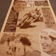 Coleccionismo deportivo: DICEN (6-5-68)COPA INERNACIONAL ESPAÑOL 2 MUNICH 0,COPA JEREZ 2 SABADELL 0,GP MOTOS AGOSTINI CAMPEÓN. Lote 57331332