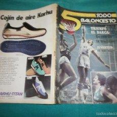 Coleccionismo deportivo: REVISTA 5 TODO BALONCESTO Nº14 AÑO 1979. Lote 57384702