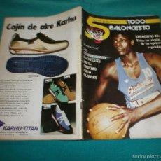 Coleccionismo deportivo: REVISTA 5 TODO BALONCESTO Nº15-16 AÑO 1979. Lote 57384748