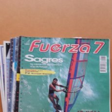 Coleccionismo deportivo: LOTE 9 REVISTAS SURFING. FUERZA 7 - NUMEROS 11, 12, 13, 14, 15, 19, 22, 34 Y 41. Lote 57403138