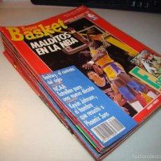Coleccionismo deportivo: LOTE DE ANTIGUAS REVISTAS SUPER BASKET. Lote 142567005