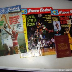 Coleccionismo deportivo: LOTE DE ANTIGUAS REVISTAS NUEVO BASKET . Lote 58369822